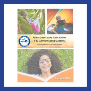 The attached K-12 Summer Reading Guidelines document is to be used by schools as a model or to support their existing school summer reading plans.
